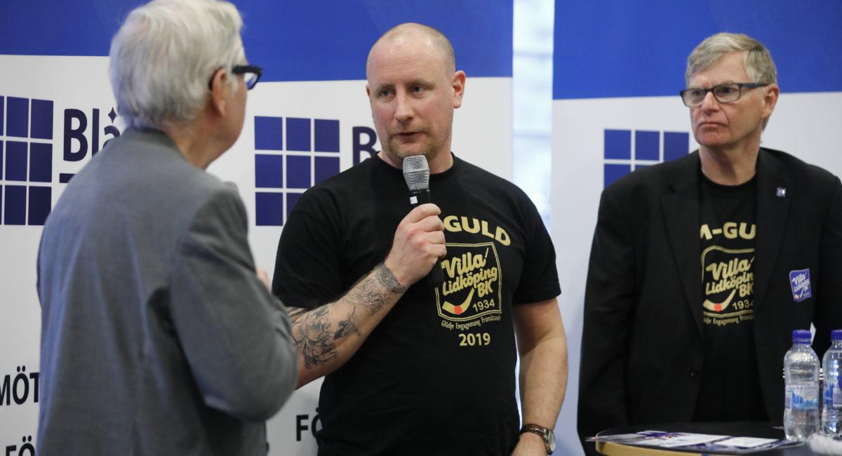 Villa hyllat hos IFK Skövde