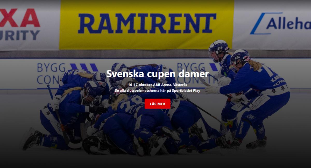 omslagsbild svenska cupen dam